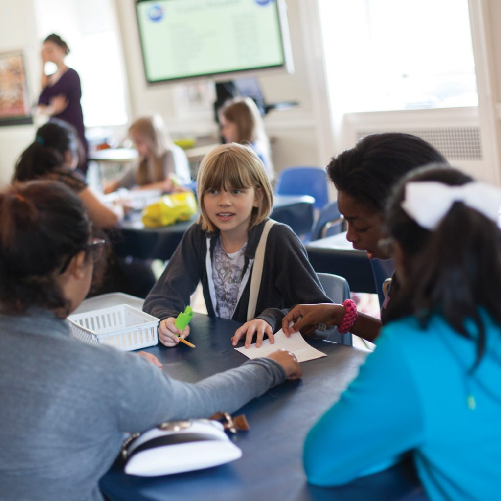 Students in a Discovery Class