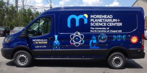 Morehead In Motion, Lab To Life mobile lab van