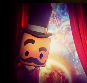 Main character from We Are Stars fulldome theater planetarium show