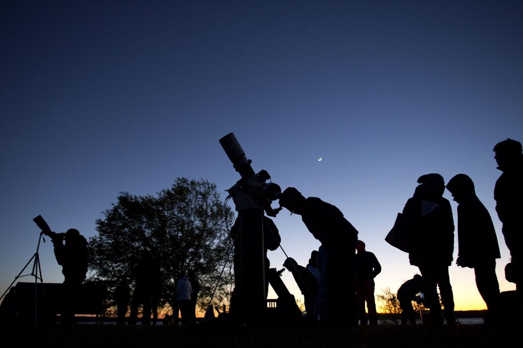 Skywatching at Morehead
