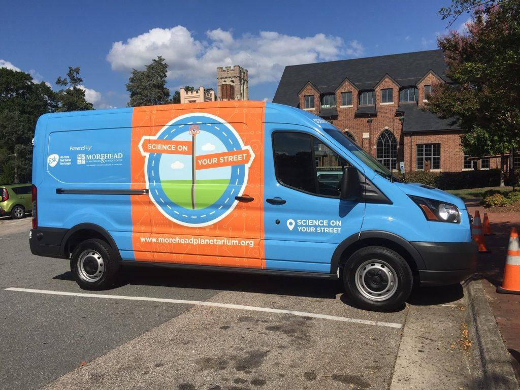 Science on Your Street van