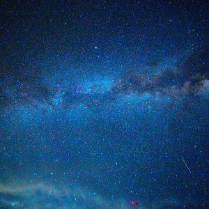 A starry night sky