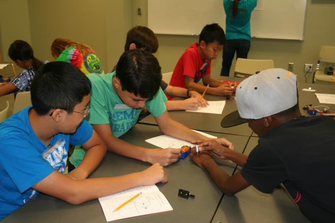 Science in Summer student activity
