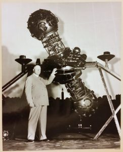 John Motley Morehead III and the historic Zeiss Projector