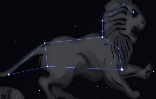 the constellation Leo the Lion