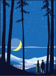 Statewide Star Party poster designed by Tyler Nordgren